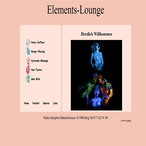 Website Elements-Lounge